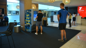 Australia - smart vending machine @ gym