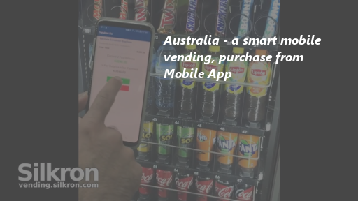 Australia - Smart Mobile Vending, purchase from Mobile App